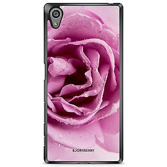 Bjornberry Shell Sony Xperia Z5 - Rose pourpre