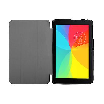 """Slim Compact PU Leather Case for LG G Pad V700 10.1""""[Red]"""