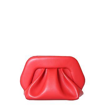 Themoirè Tmf20gn4 Women's Red Polyurethane Clutch