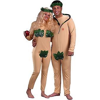 Adam Eva paar Kostüm
