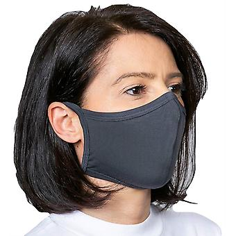 Obviously Tie Face Mask - Light Blue