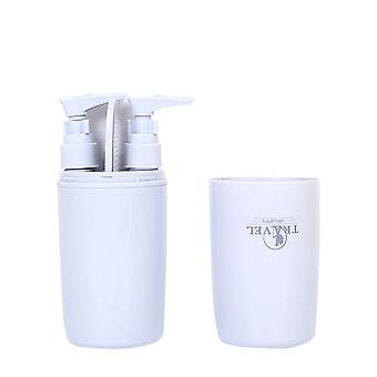YANGFAN Travel Wash Cup Multifunctional Portable Mouthwash Box Set