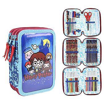 Harry Potter Charms 43-Share Pencil Box Triple School Set Pennset