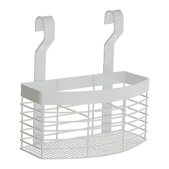 Sorello Hanging Storage Basket, White