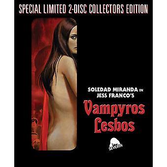 Vampyros Lesbos [BLU-RAY] USA import