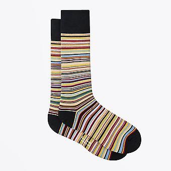 Paul Smith  - Narrow Signature Stripe Socks - Multi