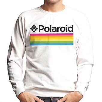 Polaroid Logo Miesten&s Collegepaita