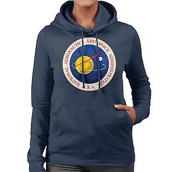 NASA Seal Insignia Women's Hooded Sweatshirt