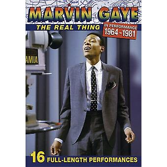 Marvin Gaye - Real Thing [DVD] USA import