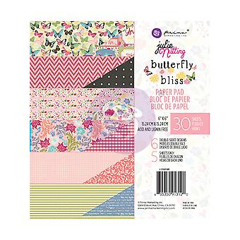 Prima markedsføring Butterfly Bliss 6x6 tommers papir pad