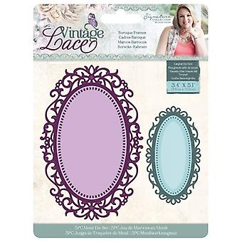Crafter's Companion Vintage Lace Dies Baroque Frames