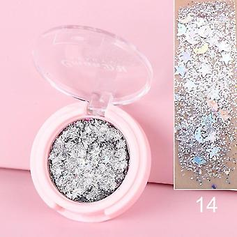 Shiny Eye Shadow Multicolore Matte Maquillage Loose Poudre