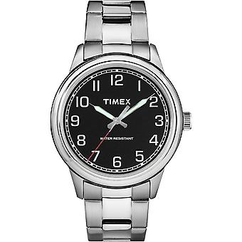 TW2R36700, Classics New England Elevated Classic Straps And Bracelets Mens Watch / Black