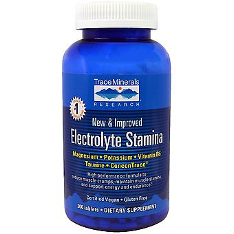 Trace Minerals Research, Electrolyte Stamina, 300 tabletten