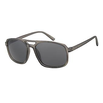 Sunglasses Men's Kat. 3 brown with grey lens (A 20206)