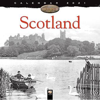 Scotland Heritage Wall Calendar 2021 Art Calendar by Created by Flame Tree Studio