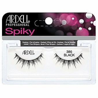 Ardell Spiky Reutilizabile False Lashes - 386 - Lentile de contact friendly & ușoare