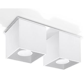 2 Lumière Suface Monté Downlight White, GU10