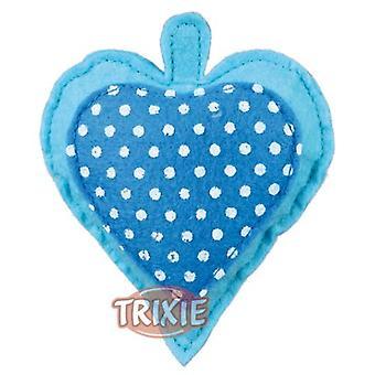 Trixie Heart Felt Stuffed With Valerian (Cats , Toys , Plush & Feather Toys)