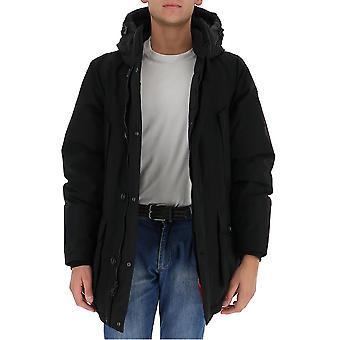 Woolrich Woou0276mrut0001 Miehet's Musta Nailon Down Jacket