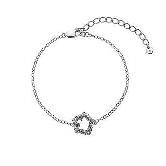 Heta diamanter Sterling Silver Vine armband DL599