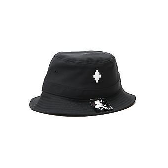Marcelo Burlon Cmlb006f20fab0011001 Men's Black Polyester Hat