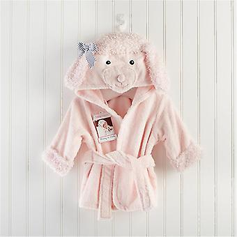 Baby Robes, Cartoon Hooded Sleep Badrobe -jurk Slaapkleding