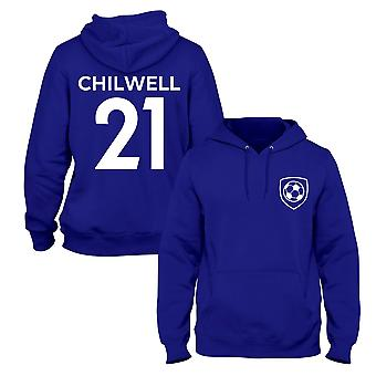 Ben Chilwell 21 Chelsea Style Player Football Hoodie