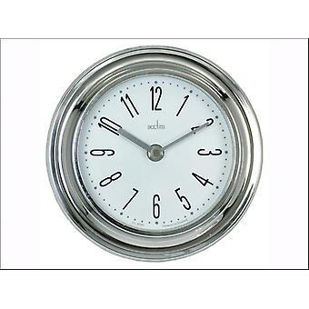 Acctim Riva Wall Clock Silver 21737