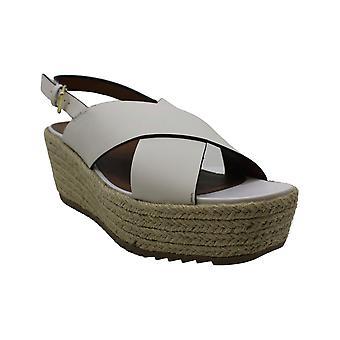 Naturalizer Womens Ek Läder Peep Toe Casual Plattform Sandaler