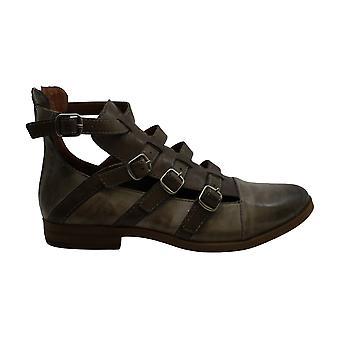 محظوظ العلامة التجارية المرأة & apos أحذية Motcha الجلود أغلقت أحذية أزياء الكاحل