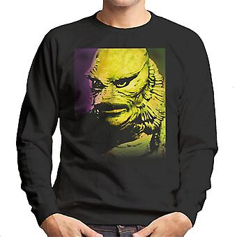 The Creature From The Black Lagoon Head Men's Sweatshirt