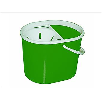 Lucy Oval Mop Bucket Green L1405293