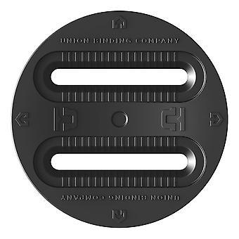 Union Bindings 3 Hole Disks - Black