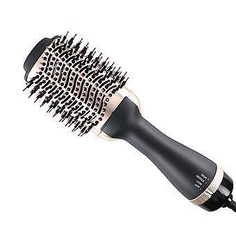 1 askel hiustenkuivaaja ja volumizer 3 sisään 1 pyörivä kuumailmaharja hiustenkuivaaja hiusharja