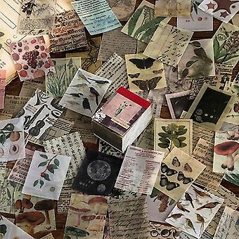 Fantasy Vintage Mini Scrapbooking/card Making/journaling Project Diy Kraft