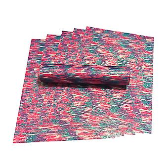 Pink, Red, Green, Purple & White Mix A4 Glitter Paper Sparkly Soft Touch Non Shed 100gsm 10 Sheets