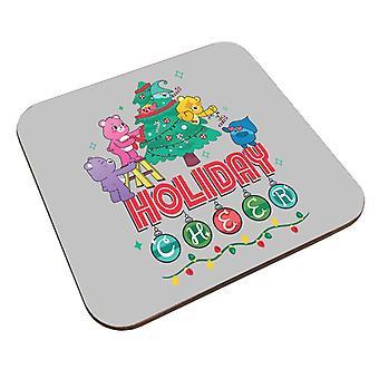 Care Bears Unlock The Magic Christmas Holiday Cheer Coaster
