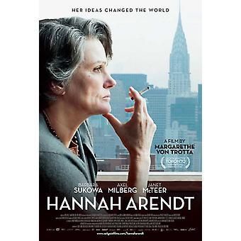 Hannah Arendt elokuvan juliste tulosta (27 x 40)