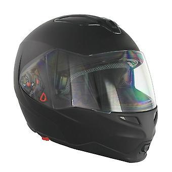 GSB G-339 Flip Front Motorcycle Helmet Matt Black S-XL