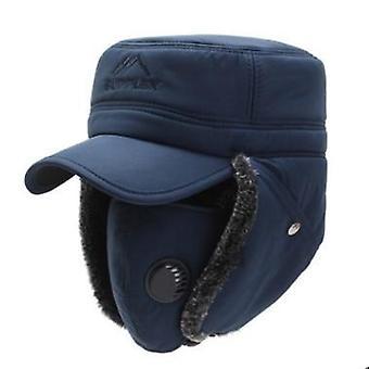 Nuovo bomber più spessa più cappello caldo in velluto, tappi da sci / donne a prova di neve
