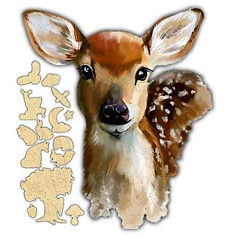 Baby Deer Jigsaw Puzzle #6816