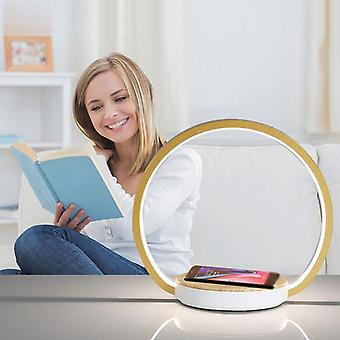 Draadloos opladen nachtkastje Nachtverlichting Live Kamer opvouwbare bureaulampen Decor
