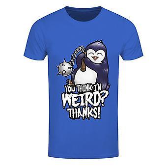 Psycho Penguin Mens You Think Im Weird Camiseta