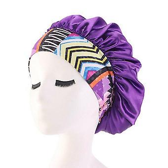 Elastic Waterproof, Shower Cap Hat For Bath Head Hair & Night Sleep Cap Cover