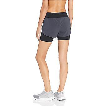 Core 10 Women's Standard Knit Waistband Run Short met ingebouwde compressie, ...