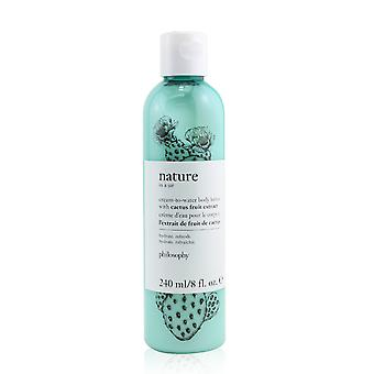 Nature in a jar cream to water body lotion with cactus fruit extract 258946 240ml/8oz