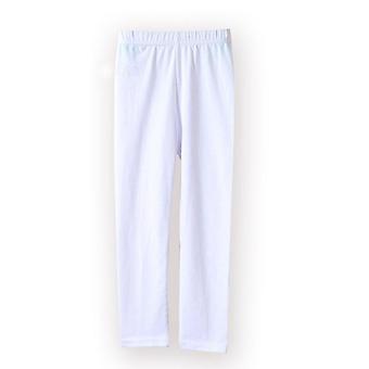 Pantalon fille Soft Elastic, Leggings en coton, Skinny Trousers Set-1