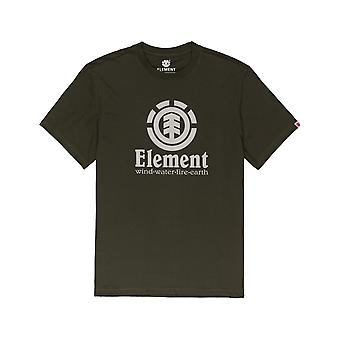 Element Vertical Short Sleeve T-Shirt in Forest Night