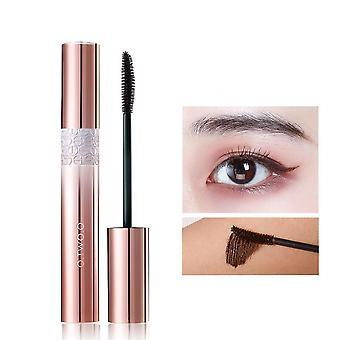4d Volume Eyelashes Mascara Lengthening Makeup Waterproof Non Staining Eye
